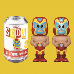 Funko Soda Limited Edition El Heroe Invicto