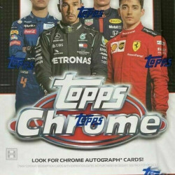 Exclusive Trading Card Of Formula 1 Topps Chrome