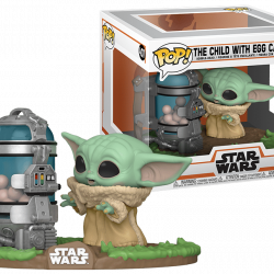 Funko Pop Star wars The Child Egg  With Canister 407