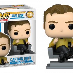 Funko Pop Captain Kirk 1136
