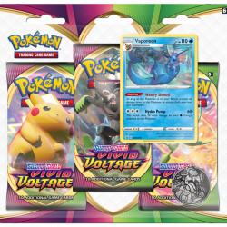 pokemon vivid voltage blister 3 Pack
