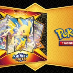 Pokemon Shining Fates Pikachu V
